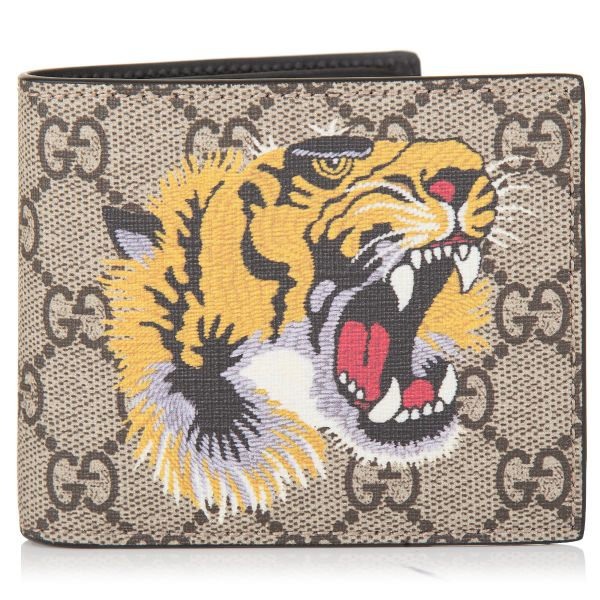 Gucci GG Supreme Tiger Wallet