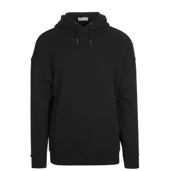 Givenchy Two Tone Raised Sleeve Logo Hooded Sweatshirt