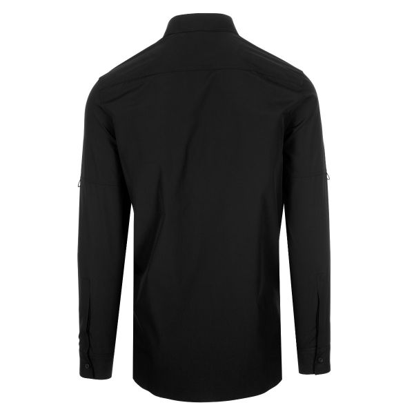 Givenchy Logo Zip Trim Shirt