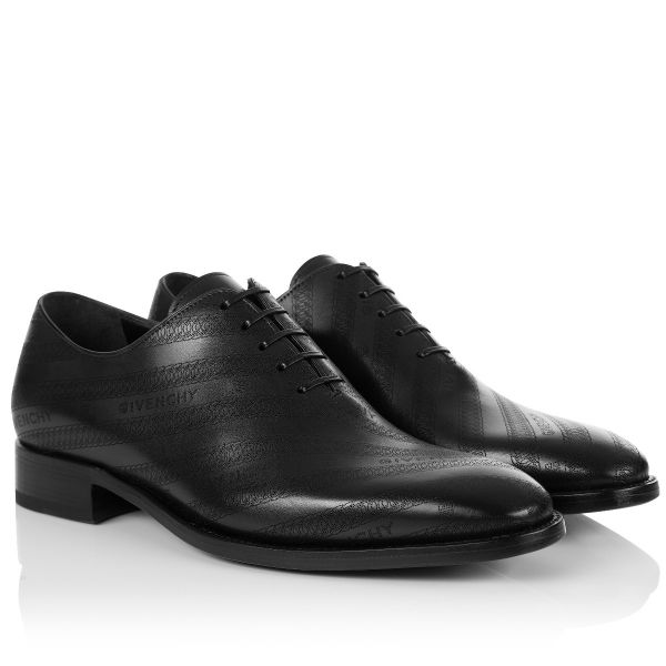 Givenchy Chain Print Logo Derby Shoes