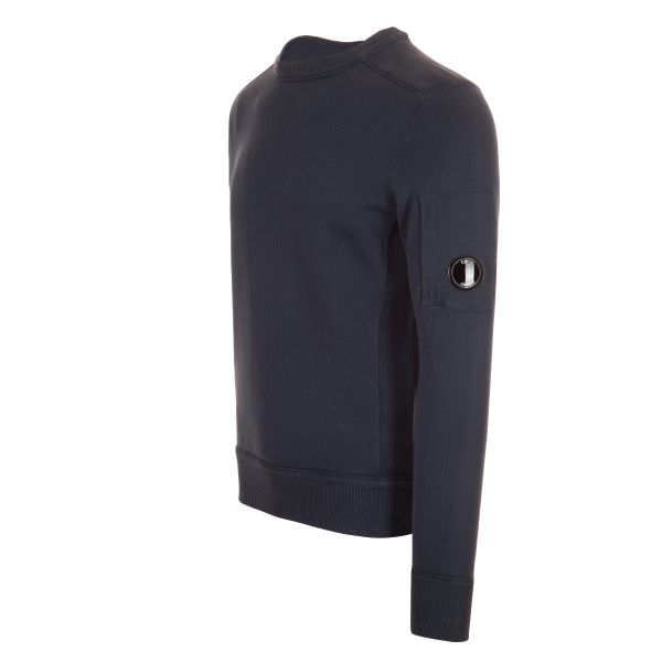 CP Company Ribbed Shoulder Lens Sweatshirt