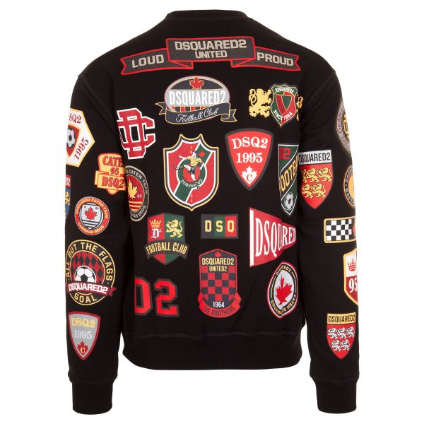 DSquared2 Badges Logo Patch Sweatshirt