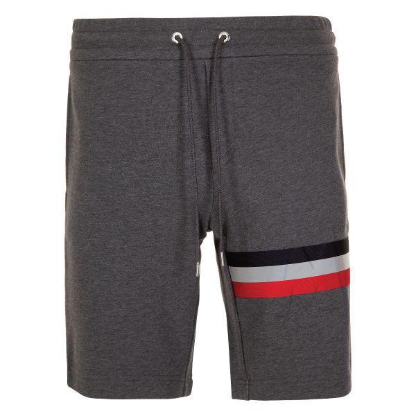 Moncler Embossed Logo Web Trim Shorts
