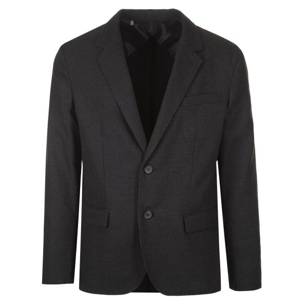 Lanvin Deconstructed Wool Blazer