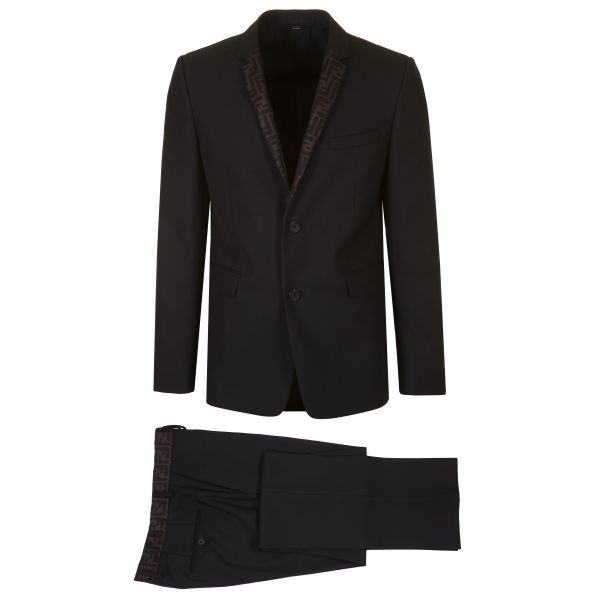 Fendi FF Formal Two-Piece Suit
