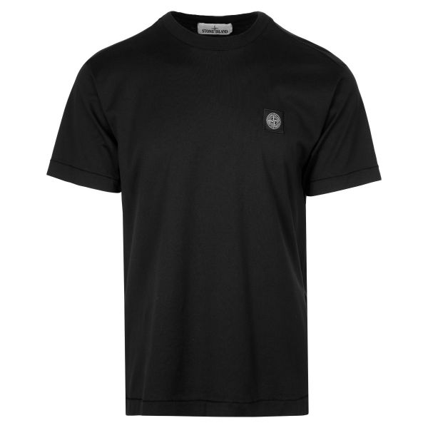 Stone Island Embroidered Badge Logo T-Shirt