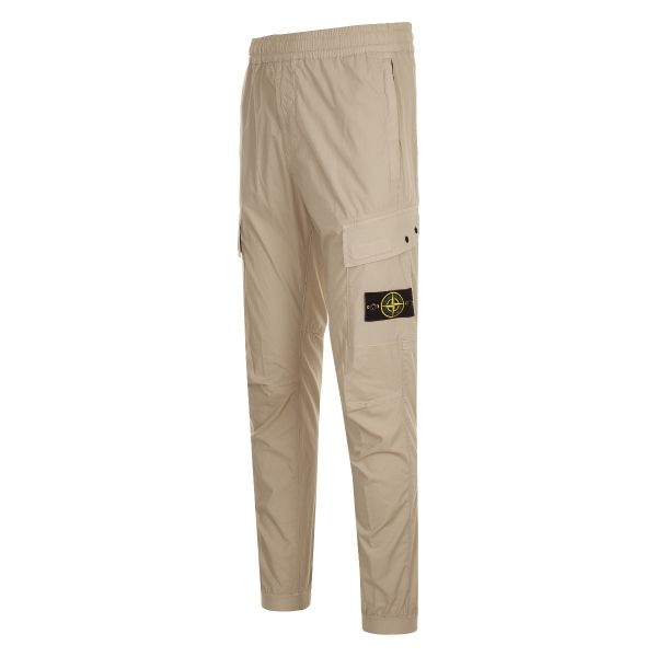 Stone Island Logo Patch Cargo Trousers