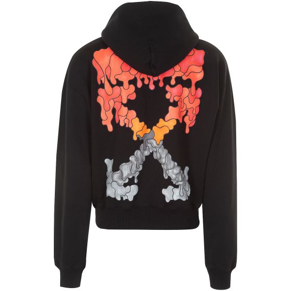 Off White Dripping Arrows Logo Hoodie