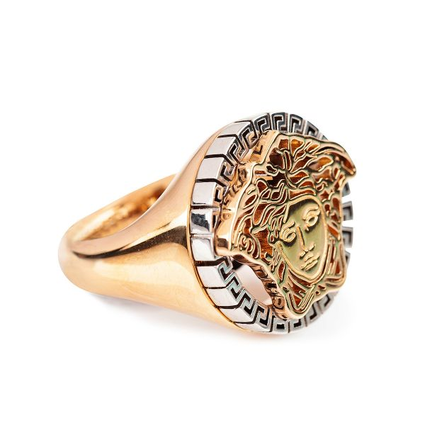 Versace Medusa Touch Ring