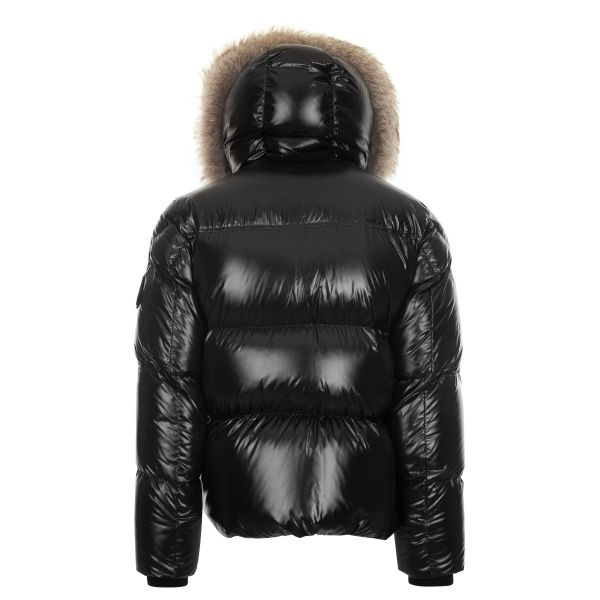 Moncler Amoricano Fur Trimmed Hooded Jacket