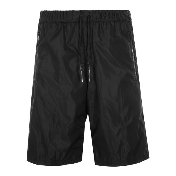 Givenchy Address Sporty Nylon Bermuda Shorts