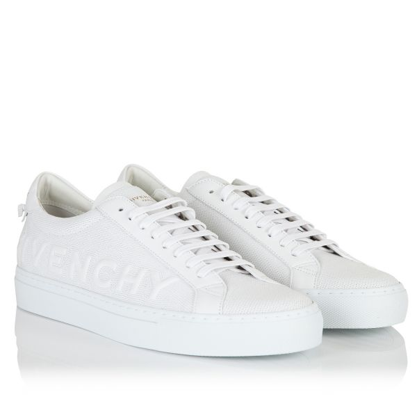 Givenchy Urban Street Embossed Logo Embroidered Sneakers