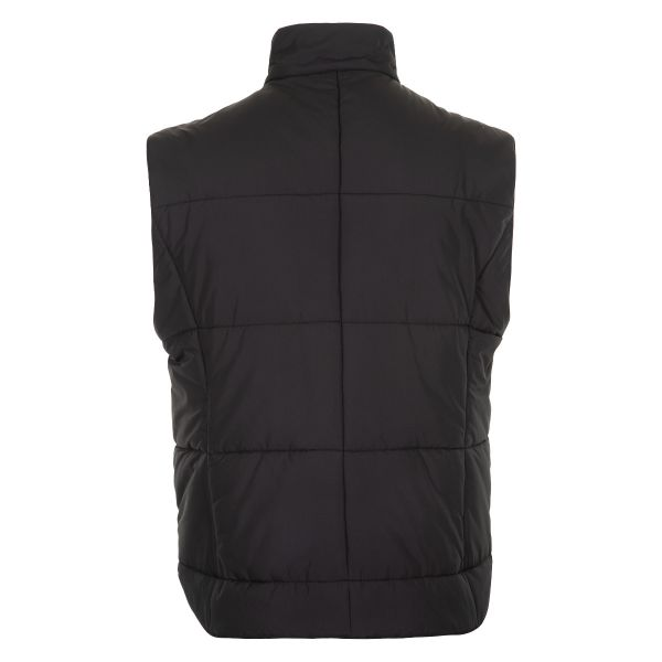 Dolce & Gabbana Plaque Logo Quilted Shell Gilet