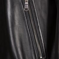 Gucci Web Leather Jacket
